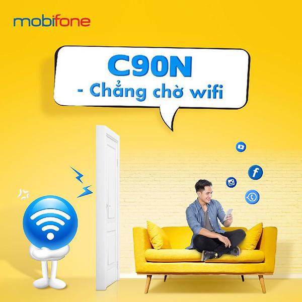 Đăng ký gói C90N Mobifone ưu đãi 120GB Data