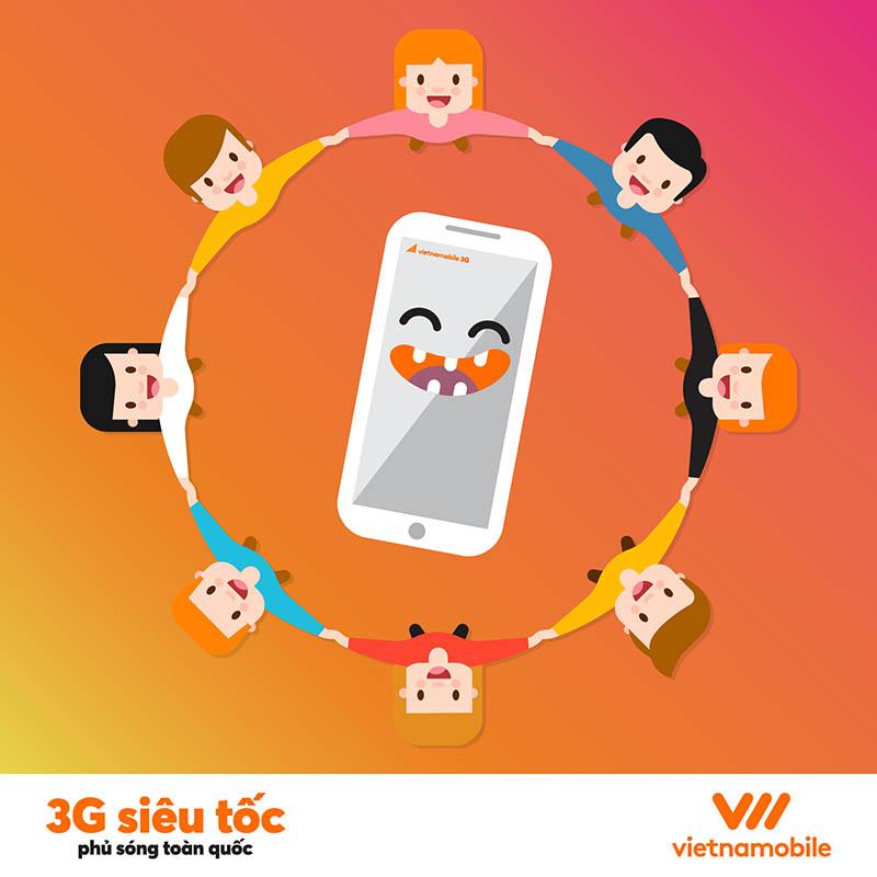 cách đăng ký 3G Vietnamobile mới nhất