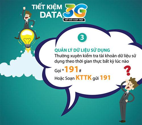 Hướng dẫn cách kiểm tra dung lượng 3G Viettel