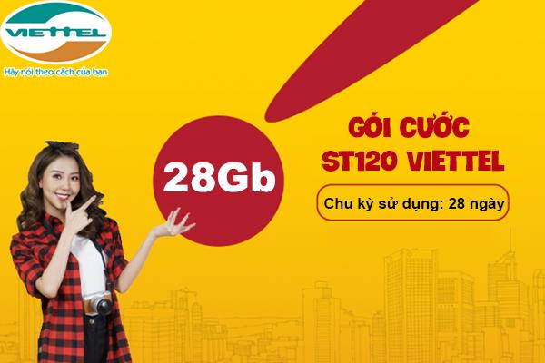 Đăng ký ST120 Viettel nhận ngay ưu đãi truy cập internet thoải mái