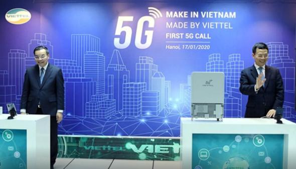 Cuộc gọi video 5G đầu tiên tại Việt Nam