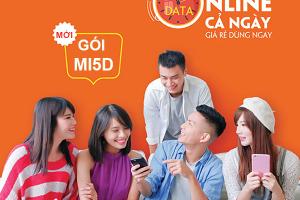Gói Mi5D Viettel ưu đãi 500MB Data