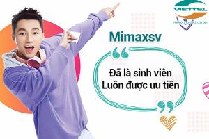 MimaxSV 4G Viettel – Gói cước cho sinh viên chỉ 50.000đ