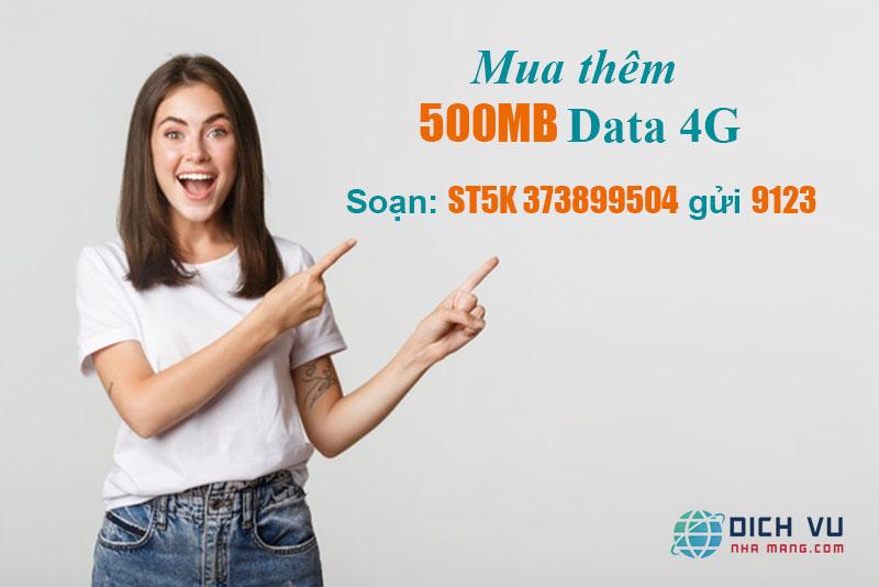 Cách mua thêm dung lượng 4G Viettel chỉ với 1 tin nhắn