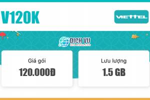 Đăng ký gói combo V90K Viettel có ngay 1.5GB & 400 phút nội mạng