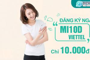 MI10D Viettel, lướt web cả ngày chỉ với 10.000đ