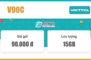 Gói V90C Viettel – Ưu đãi 30GB Data và gọi nội mạng miễn phí