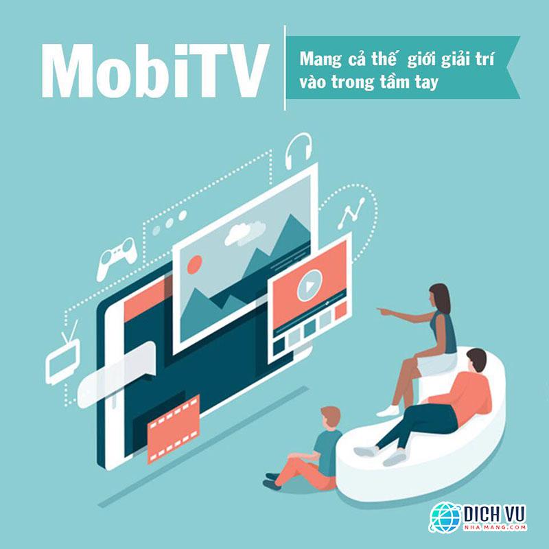 MobiTV Viettel – Xem truyền hình trên di động Miễn phí Data 3G/4G