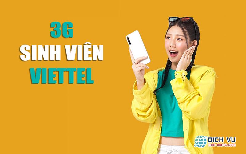 Giảm 20.000đ cho gói 3G Viettel sinh viên