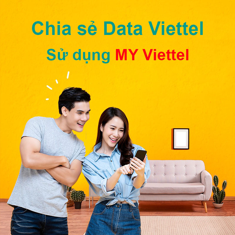 Chia sẻ Data Viettel bằng ứng dụng My Viettel