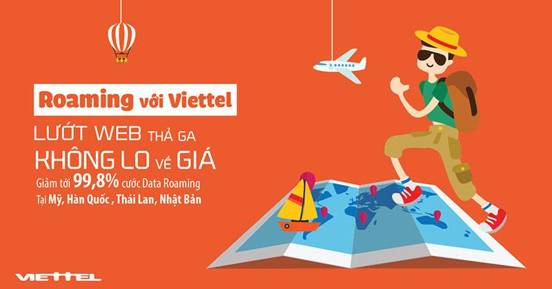 Cách đăng ký dịch vụ chuyển vùng quốc tế Viettel Roaming