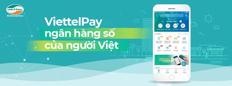 Nạp thẻ trả sau Viettel qua ngân hàng số Viettelpay